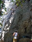 Rock Climbing Photo: Climbers on Inga La Dinga
