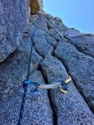 Rock Climbing Photo: Following P4