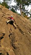 Rock Climbing Photo: Top roping in Washington before heading to Mt. Bak...