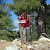 Hiking Mt. Baldy via Bear Trail and then the 3 T's.