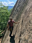 """Rock Climbing Photo: RH TR-ing """"Life of Brian"""".  If you lead ..."""