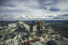 Rock Climbing Photo: Summit photo with Joshua Kasumovic.