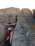 Rock Climbing Photo: Melissa Jane starting up the unknown 5.7! Fun rou...