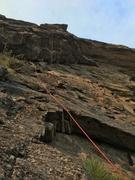 Rock Climbing Photo: No hands rest!