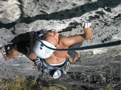 Rock Climbing Photo: Jerwin Cuason on Pitch 1 of La Nina