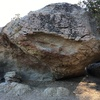A picture of the low boulder