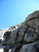 Rock Climbing Photo: The second double rope rap from Emerald City to th...