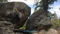 "Rock Climbing Photo: JK ""Cat Scratch Fever"" V4/5"