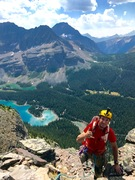 Great climbing with great views!