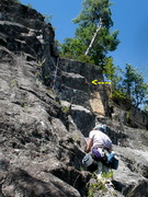 Rock Climbing Photo: Our P2 (Webster's P3) variants include left-side, ...