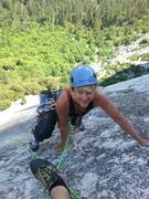 Rock Climbing Photo: My hot wife in Yosemite Valley. Happy wife, happy ...