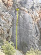 Rock Climbing Photo: Solitary Smile 5.8
