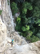 Rock Climbing Photo: Pitch 2 of Viserion. A great getaway from the busy...