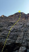Rock Climbing Photo: Start of route