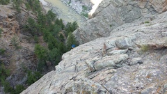 Rock Climbing Photo: Cool Canyon views from P2