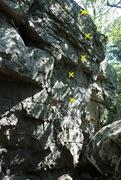 Rock Climbing Photo: Looking at the face.