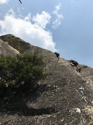 Rock Climbing Photo: Emile and Cyril on last pitch