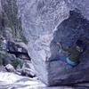 Myself on the Iceberg Boulder