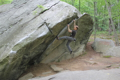 Rock Climbing Photo: Catching The Wave.