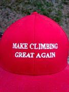 Rock Climbing Photo: Make Climbing Great Again