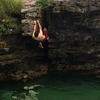 Brandon Climbing splash zone