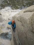 Rock Climbing Photo: chicken-wingin' on p.9