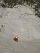 Rock Climbing Photo: Laser splitter on p.4 of Valkyrie