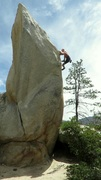 Rock Climbing Photo: Onsight, ground up, no pad, no spotter.....totally...