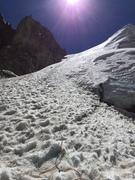 Rock Climbing Photo: First and main ramp up