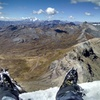South view to Yerupaja in the Cordillera Huayhuash