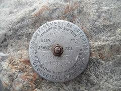 Rock Climbing Photo: Summit of Middle Teton