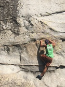 Rock Climbing Photo: Wake up your fingers on this photogenic  traverse....