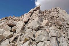 Rock Climbing Photo: ahead to gendarme on Mt Carillon SE Long Ridge
