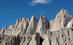 Rock Climbing Photo: E side of Happy Cowboy ridge S of Mt Whitney