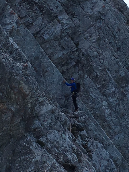 Gerard at the end of pitch 12.
