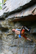 Rock Climbing Photo: Getting ready to launch in to the hard stuff