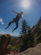 Rock Climbing Photo: Diving Board Tayne.
