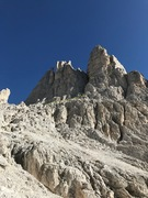 Rock Climbing Photo: Torre winkler, winkler crack on the right