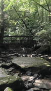 Rock Climbing Photo: Fern Creek bridge on the Fern Creek approach to En...