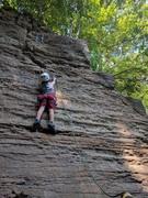 Rock Climbing Photo: Aiden on N.A.R.B.