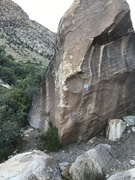 Rock Climbing Photo: Overview of Le Cheval.