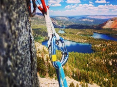 Rock Climbing Photo: Stellar view from the anchors on I Don't Drink Sco...