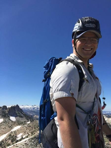 First Yosemite climb!