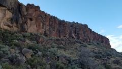 Rock Climbing Photo: Right Side of Utopian Vista Upper Tier