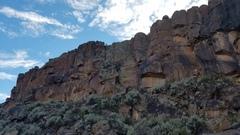 Rock Climbing Photo: Left side of Utopian Vistas Upper Tier