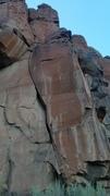 Rock Climbing Photo: Bottom of Modest Mouse