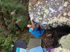 Rock Climbing Photo: Apocalypto, Erick Kopff with the photo.