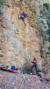 "Rock Climbing Photo: ""With belay glasses you can look anywhere, ri..."