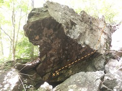 Rock Climbing Photo: Right line.