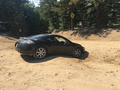 Rock Climbing Photo: Dangerous parking lot.